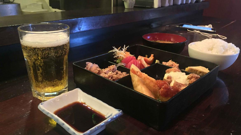 yakitori daruma bento box queenstown first table