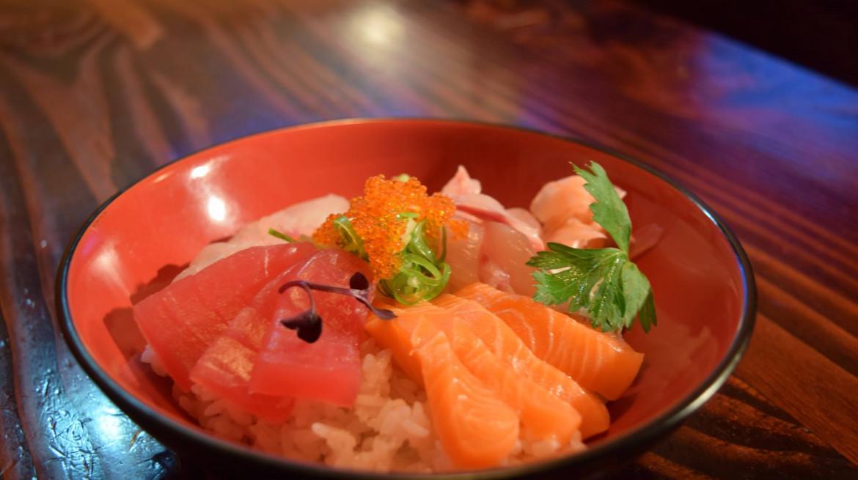 yakitori sashimi bowl