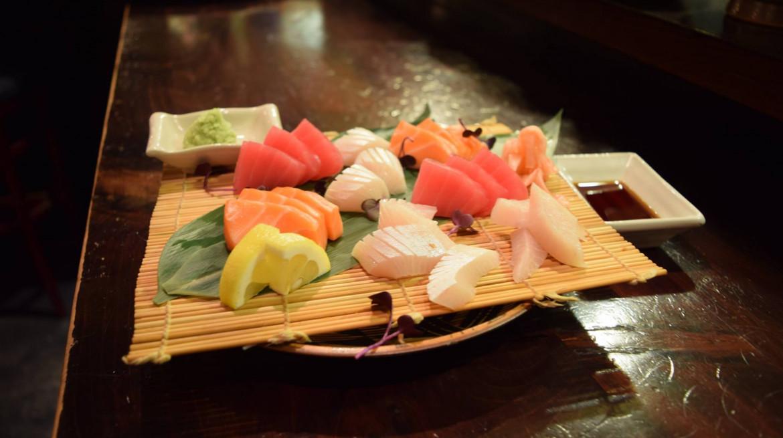 yakitori sashimi
