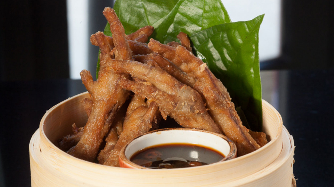 blue kanu chicken feet
