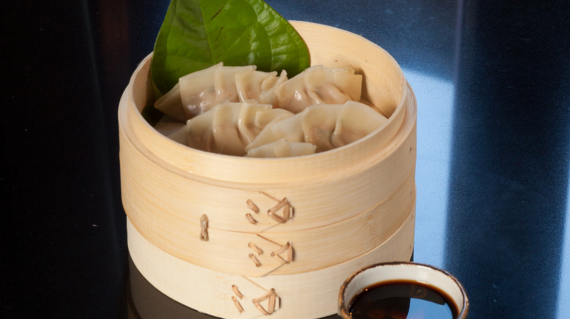blue kanu dumplings