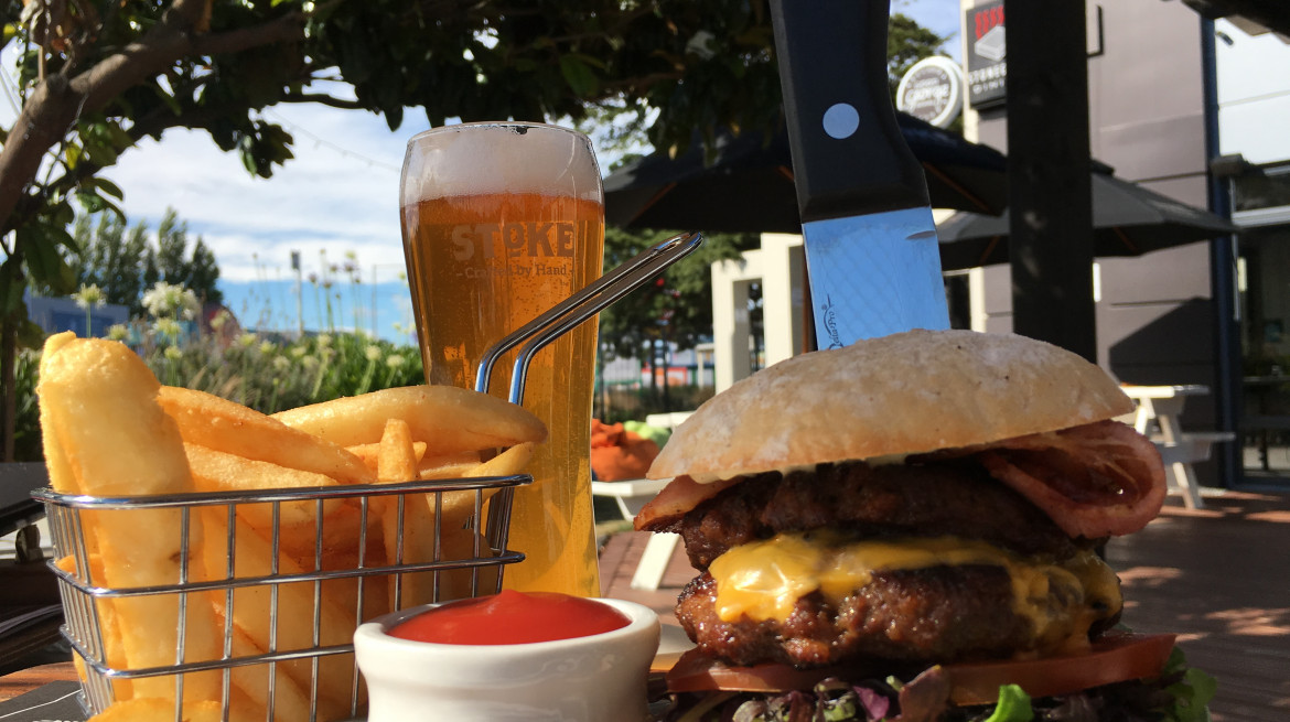 Craft Burger stoke Gold