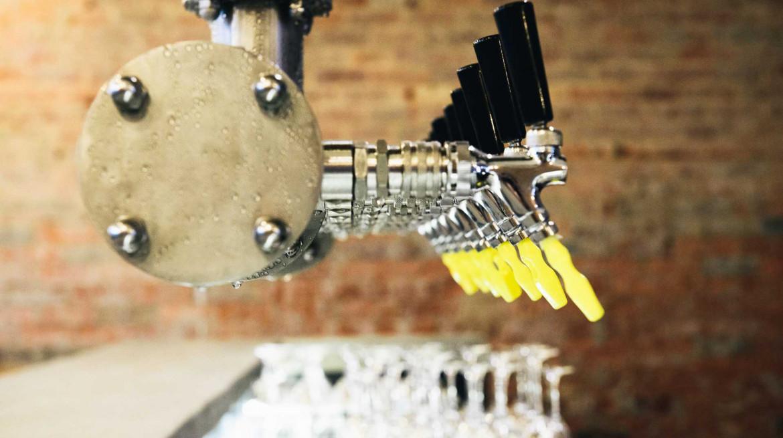 catchment beer taps
