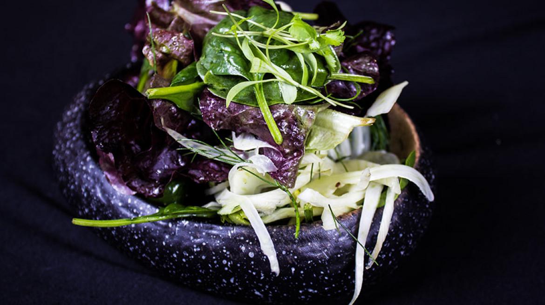six acres salad