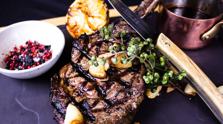 six acres steak