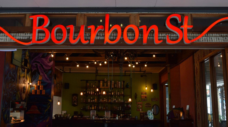 bourbon street entrance