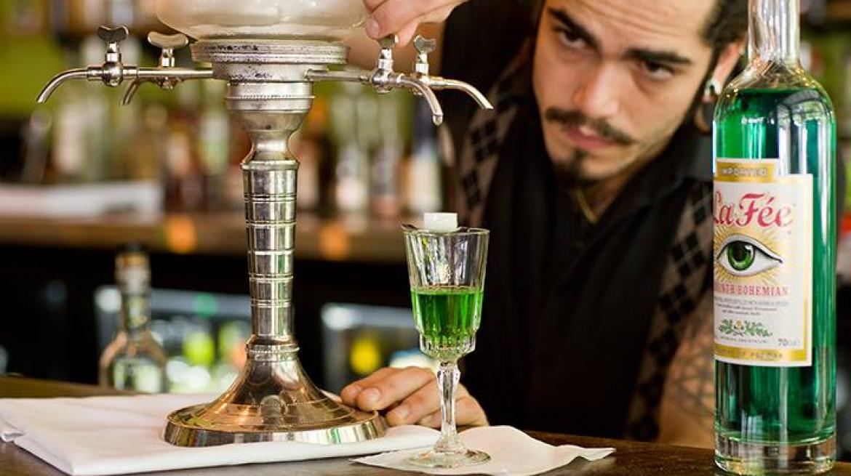 bourbon absinthe