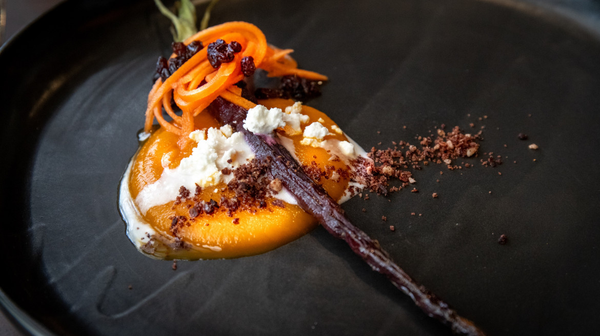 Carrot vego dish2 July 2019 credit Petra Hughes or regionalfoodie