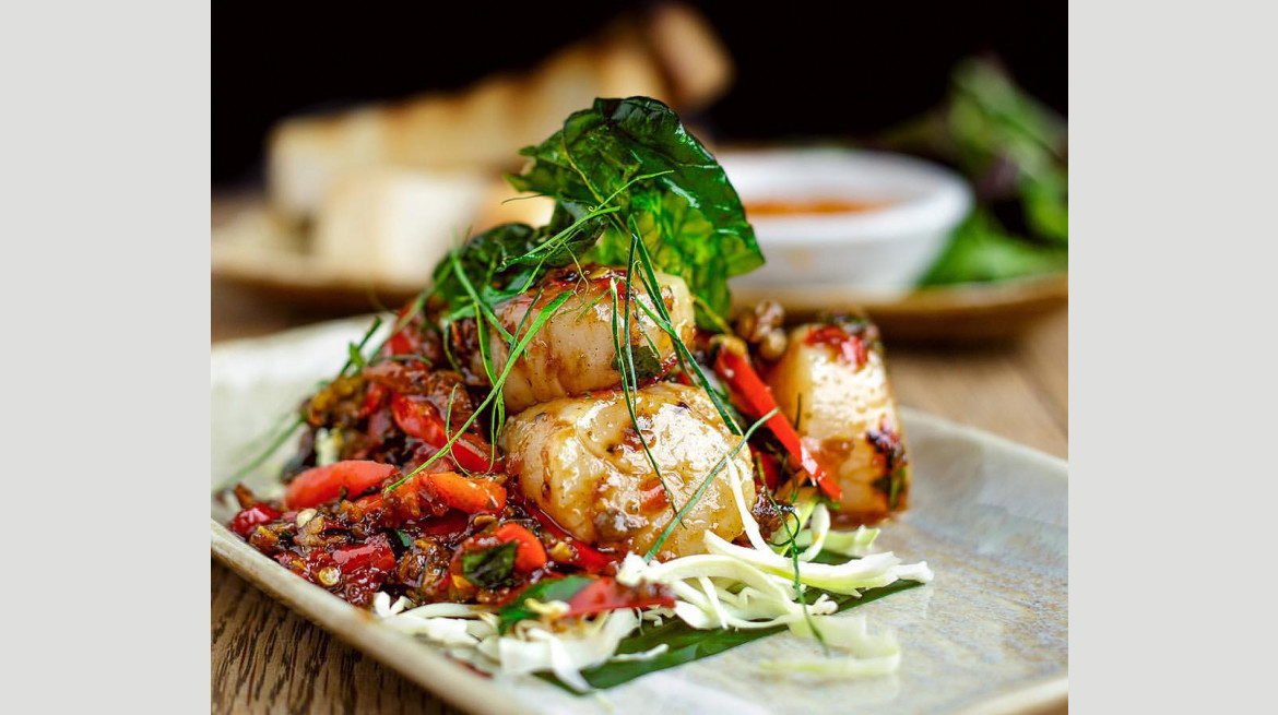 tuk tuk spicy scallop