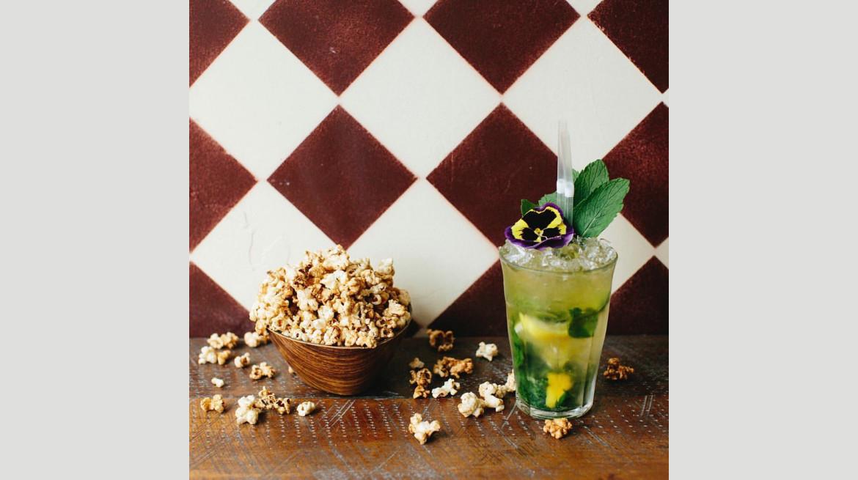 clawdy green tea mojito