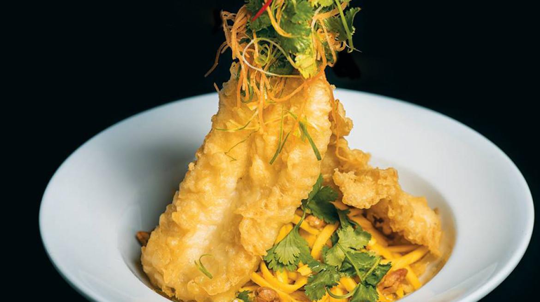 spice paragon tempura fish