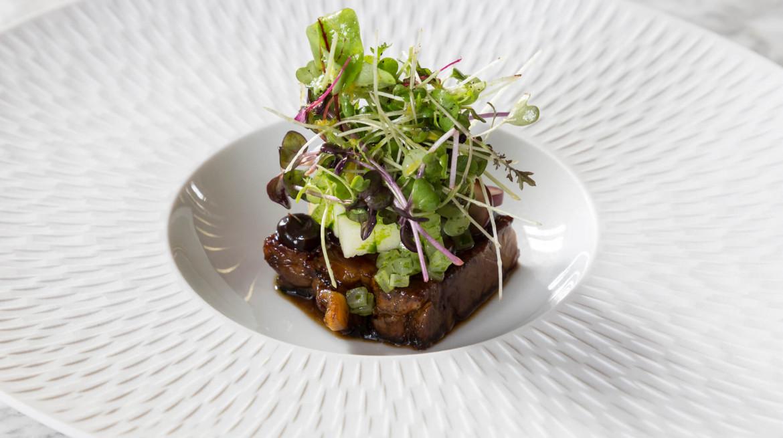IFWG Food Awards 2019 Broughgammon Farm Goat Shoulder Waldorf Salad
