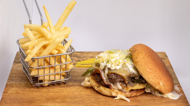 Duke first table Burger